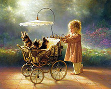 I Love New Yorkies by Greg Olsen