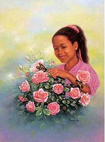 Spring Flower - Poster by Ray Issac