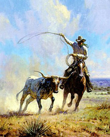 Ropin' A Wild one by Martin Grelle