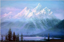 Teton Twilight by Peter Ellenshaw