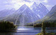 Splendor of the Teytons by Peter Ellenshaw