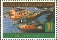 New Zealand Duck Stamp 1995 New Zealand Shoveler