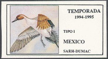 Mexico Duck Stamp 1994 Pintail