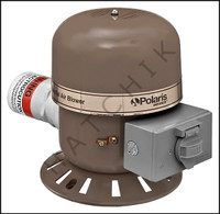 M1160 ANZEN AIR BLOWER #566 - 2 HP 220V  3.9 AMPS  SIDE EXHAUST