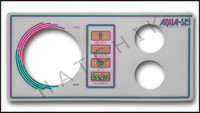 M2060 LEN GORDON 2-BUTTON AQUA-SET FACEPLATE