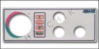 M2062 LEN GORDON 3-BUTTON AQUA-SET FACEPLATE