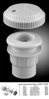 M5110 SAFETY SUCTION FITTING ASSY 10-6800 COLOR: WHITE