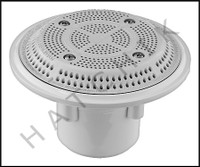 "N1216 PENTAIR 500300 EQUALIZER FTG WHITE EQUAL/SUCTION 2"" SLIP W/1.5""REDUCE"