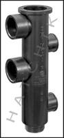 N5311 STA-RITE 14930-0003 ABS BLACK BODY PLASTIC SLIDE VALVE BODY