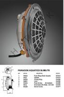 O1071 PARAGON 500W SLIMLITE 120V 50' W/50 FT CORD