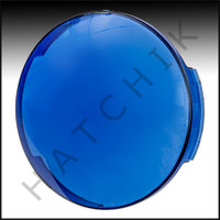 O4014 HATTERAS #651025 SNAP ON LENS BLUE ON SPA LIGHT LENS COVER - BLUE               *OBS*