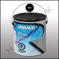 P6021 RAMUC DS PAINT-1 GAL BLACK COLOR: BLACK #321