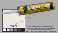 S1007 VULKEM SEALANT #116 11oz WHITE CARTRIDGE   COLOR: WHITE