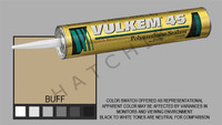 S1027 VULKEM SEALANT #45 QT CART BUFF COLOR: BUFF