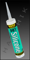 S1107 SILICONE ADHESIVE 10.3 oz WHITE ODORLESS  COLOR: WHITE