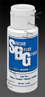 S4028 S.B.G. SILICONE BASED LUBE 1.5oz 1.5 oz BOTTLE