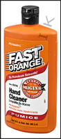 S4078 FAST ORANGE W/PUMICE 15oz HAND CLEANER FOR SERVICEMEN