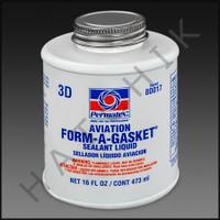 S4085 FORM-A-GASKET #3D 16oz #3D