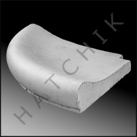 T1115G COPING STONE - AQ 1' REVERSE RADIUS - SMOOTH SURFACE