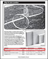 T1518 STEGMEIER SLIP & JOIN LUMBER 12 X 12' PC PER CASE