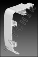 T1544 STEGMEIER 1NC1 REGULAR NOSE WHITE CAP - WHITE   (100/CS)
