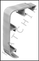 T1772 QUAKER QP-1301G NOSE CAP GREY NOSE CAP - GRAY (100/CASE)