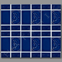 T4038 TILE - DOLPHIN SERIES DP 60 COLOR:BLUEBERRY