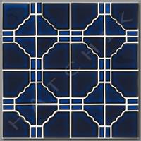 T4039 TILE - ZODIAC SERIES  ZC-141 COLOR: ROYAL BLUE (30 SHT/CS)