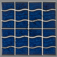 T4063 TILE-WAVE SERIES WA-44KOBSOLETE COLOR:PACIFIC BLUE (20/CS)