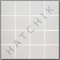T4072 TILE HM-301 HARMONY 300 SERIES 3X3 MATTE WHITE (20 SHEETS/CASE)