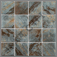 T4362 TILE-INCA SERIES #INC33 COLOR:SAGE 3X3 (20/CS)