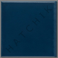 T4389 TILE BULLNOSE 6 X 6 NAVY BLUE MASK646 SBN COLOR: NAVY BLUE 44/CS