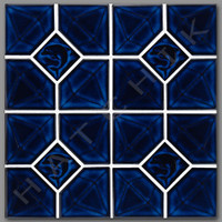 T4714 TILE- DA-30 DIAMOND SERIESOBSELETE COBALT (20 SHEETS/CASE)
