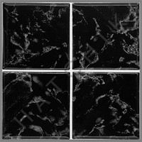 "T4823 TILE- POOLS STAR 6"" X 6"" PSR4000 BLACK"