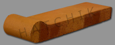 T7138 BRICK COPING-SAFET-GRP-AUT LEV 3-5/8 X 12-1/2 X 1-1/4  #350