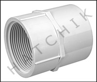 "U1225 FEMALE ADAPTOR S X FPT 2-1/2"" 435-025"