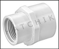 "U2906 FEMALE ADAPTOR S x F 1/2"" x 3/4"""