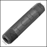 """U3107 PVC NIPPLE 3/8"""" X 3"""