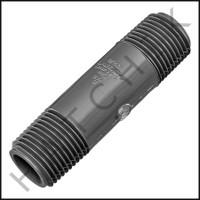 """U3115 PVC NIPPLE 1/2"""" X 3"""