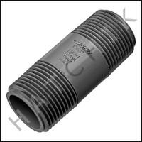 """U3121 PVC NIPPLE 1"""" X 3"""