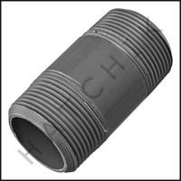 """U3125 PVC NIPPLE 1-1/4"""" X 3"""