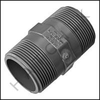 """U3131 PVC NIPPLE 1-1/2"""" X 3"""