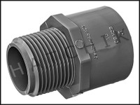 "U7210 MALE ADAPTOR SCH 80 1"" F-SLIP  836-010"