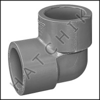 "U7535 ELBOW (90) CPVC SLIP 1-1/2"" 9806-015 OR 806-015C"