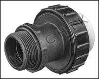 """U7572 UNION CPVC MPT X F-SLIP  1-1/2"""" W/O-RING"""