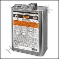 V1005 PVC CEMENT GALLON CLEAR