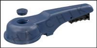 "V1435 ASAHI 6"" BLUE PLAS REPL.HANDLE FOR PVC WAFER VALVE NEW STYLE  (BLUE)"