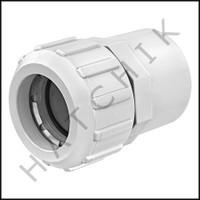 "V3016 FLO 1-1/2""IPS SOCKET X 1-1/2""CTS COPPER TO PVC W/FLO LOCK ADAPT"