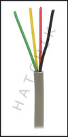 V4640 JANDY #4278  4-CONDUCTOR CABLE FOR RS CONTROLS - ONLY  22GA