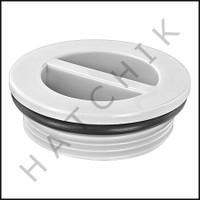 V5017 PLASTIC PLUG W/ O-RING  1-1/2 1022B STYLE  (FLUSH) (V5027)